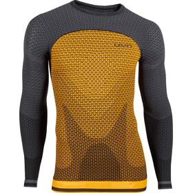 UYN Running Alpha OW Chemise Homme, sunny orange/charcoal